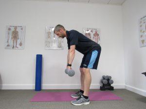 Dead lift - strength training for runners