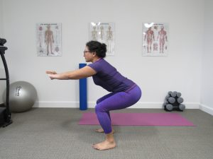 Squat - strength training for runners
